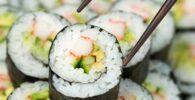 Rollo de sushi basico
