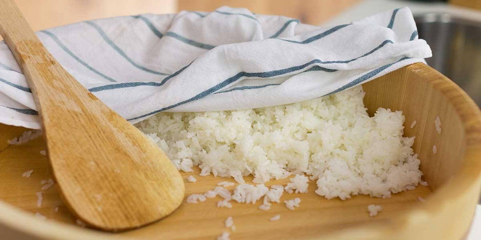 como preparar arroz para sushi paso a paso
