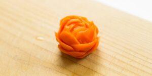 rosa de zanahoria