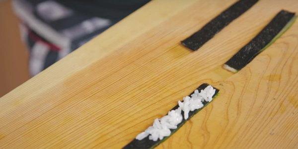 Decoración Sushi de Cangrejo Nori